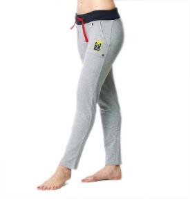 American Swan Self Design Women's Grey Track Pants
