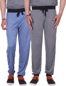 Gag Wear Solid Men's Dark Blue, Grey Track Pants