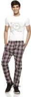 Delhi Seven Checkered Men's Track Pants
