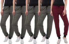 Kinma Self Design Women's Multicolor Track Pants - TKPEG58SMPCXWNYB