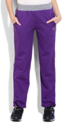 Duke Duke Solid Women's Track Pants (Violet)