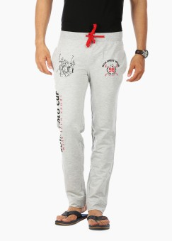 Wear Your Mind Graphic Print Men's Track Pants - TKPE8UHHNJBWTVZH