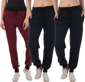 Kinma Self Design Women's Multicolor Track Pants - TKPEG58PRKMSQYK6