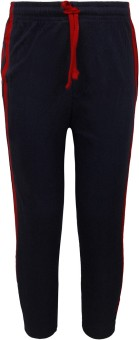 Jazzup Kidz Sport Wear Solid Boy's Blue, Red Track Pants