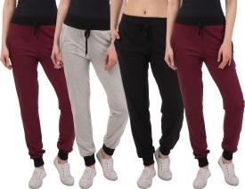 Kinma Self Design Women's Multicolor Track Pants - TKPEG58SA6TAPGHA