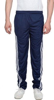 Xplore Blue Solid Solid Men's Track Pants