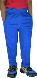 DFH Solid Boy's Blue Track Pants