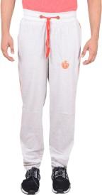 GDS Solid Men's White Track Pants
