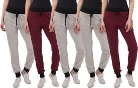 Kinma Self Design Women's Multicolor Track Pants - TKPEG58XBZX2FHCZ