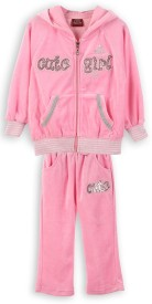 Lilliput Embroidered Girl's Track Suit