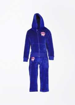 612 Ivy League Solid Girl's Track Suit