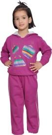 Shaun 625girlish Printed Girl's Track Suit