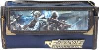 Laviva Navy Blue Cross Fire Pocket Bag Blue
