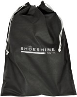 ShoeshineIndia Stylish Non-Woven Shoe Bag SB_12_Black