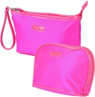 Uberlyfe Hot Pink Multipurpose Pouch Or Purse For Women - Set Of 2 Pink
