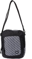 PinStar Black And White Diamond Gadget Travel Pouch (Black - 02)