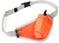 Packnbuy Sports Waist Pack Belt With Bottle Holder Portable For Outdoor Hiking Running Jogging Orange