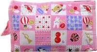 Ekran Printed Vanity Bag Pink