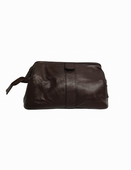 cf151bdb0f64 Newfeel Tr Washkit Travel Toiletry Kit Black. Chimera Leather 5262 Travel  Toiletry Kit Brown
