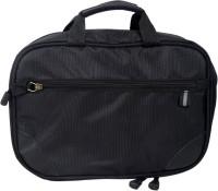 Fab.U Four Layer Multipurpose Black Polyester Travel Toiletry Kit Black