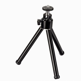 Power Smart Mini Stand Small Portable Metal Tripod For Camera Mobile