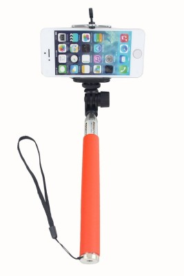 Get best deal for Enigma Electronics Enigma Extentable Monopod with Bluetooth Remote-MORY Monopod Kit Orange, Supports Up to 3000 g at Compare Hatke
