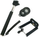 Goodit Selfie Stick With Bluetooth Remote Monopod (Black, Supports Up To 500 G)