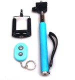 Acromax Selfie Stick with Bluetooth Remote for Blackberry 8320