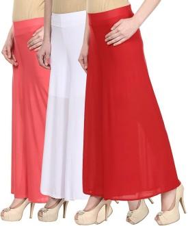 Glitterss Regular Fit Women's Purple, Pink, Purple Trousers
