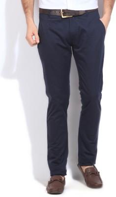 People Slim Fit Men Trousers