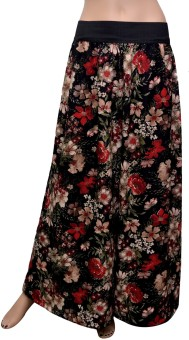 GraceDiva Floral Print Regular Fit Women's Trousers