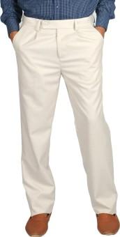 STOP By Shoppers Stop Regular Fit Men's Trousers - TROE6QEV8PTRFFQP