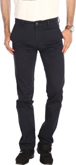 STOP To Start Flat Front Slim Fit Men's Trousers Slim Fit Men's Trousers