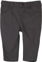 Beebay Regular Fit Baby Boy's Grey Trousers