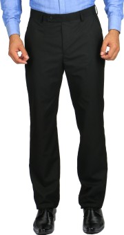 STOP By Shoppers Stop Regular Fit Men's Trousers