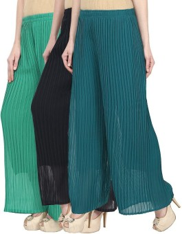SYS Regular Fit Women's Green, Blue, Green Trousers