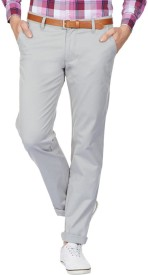American Swan Slim Fit Men's Grey Trousers