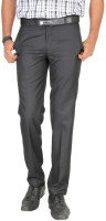 Jade Blue Slim Fit Men's Trousers