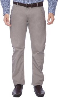Vettorio Fratini By Shoppers Stop Slim Fit Men's Trousers