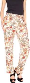 Fashion205 Pink Regular Fit Women's Trousers - TROE57CSZTD8E4XH