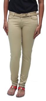 Romano Stretch Cotton Slim Fit Women's Trousers
