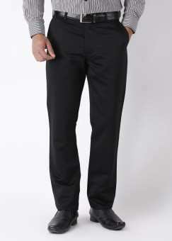 Burnt Umber Slim Fit Men's Trousers