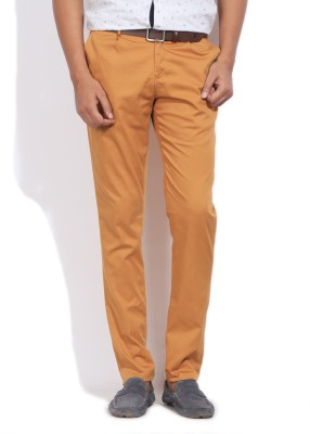 Blackberrys Blackberrys Slim Fit Men's Trousers (Orange)