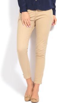 People Slim Fit Women's Trousers
