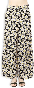 20Dresses Regular Fit Women's Black, White, Yellow Trousers