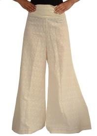 Jupi Regular Fit Women's Cream Trousers