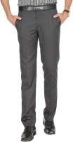 Green Fibre Regular Fit Men's Trousers - TRODVPHZFYGDUUTH