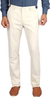 Vettorio Fratini By Shoppers Stop Regular Fit Men's Trousers