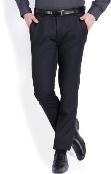 Black Coffee Regular Fit Women's Trousers