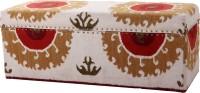 Natural Fibres Export Natural Fiber Trunk (Finish And Fabric Color - Multicolor)